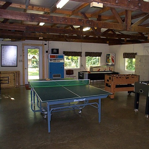 Camp game room