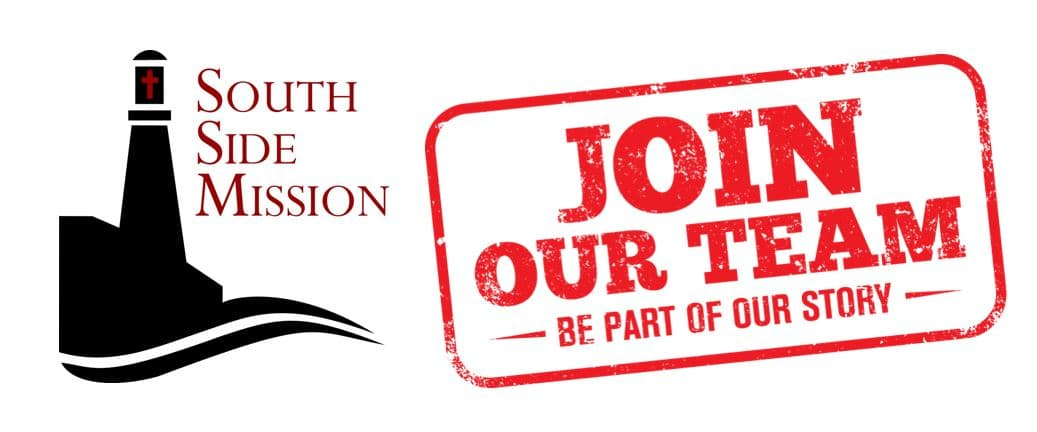 Join our team south side mission logo